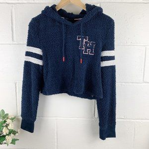 Tommy Hilfiger Navy Blue Hoodie Sweater Size XS